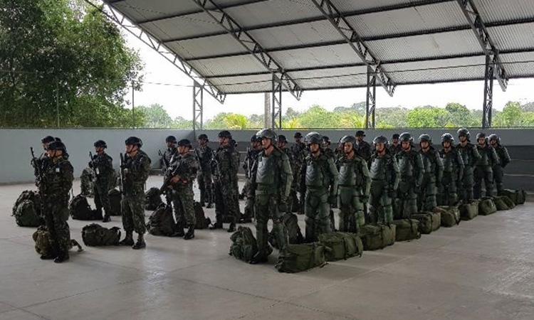 GLO em Roraima: Exército intensifica controle na faixa de fronteira