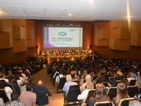 A Sessão de Abertura foi prestigiada por inúmeras personalidades da área de CT&I e por um auditório lotado
