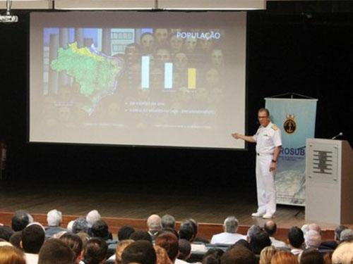 Programas Nuclear e de Desenvolvimento de Submarinos da Marinha são apresentados à sociedade pernambucana