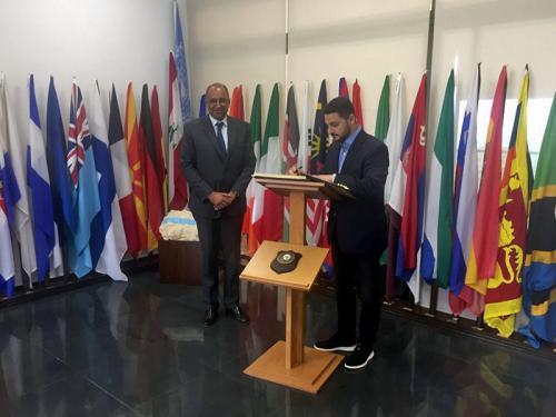 Secretário Especial de Assuntos Estratégicos da Presidência da República visita Quartel General da UNIFIL