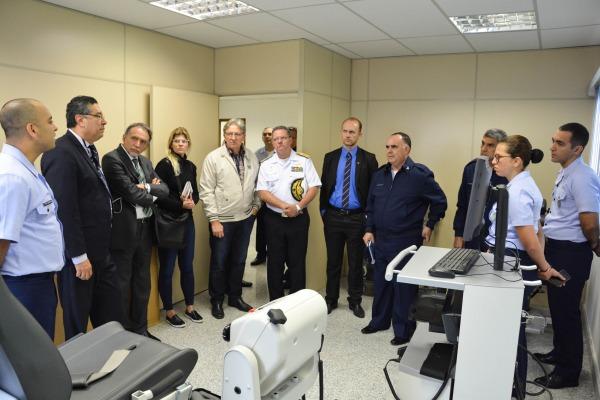 UNIFA recebe comitiva do MD e da CAPES