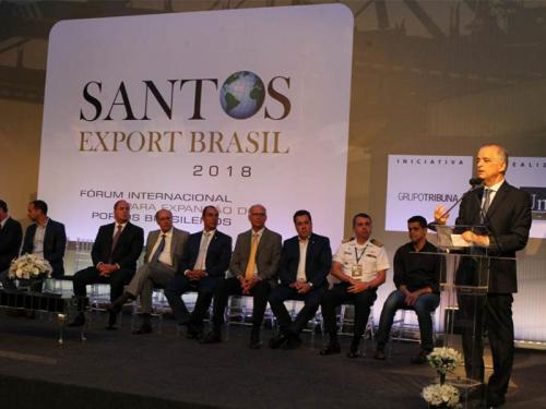 Capitania dos Portos de São Paulo participa da Santos Export Brasil 2018
