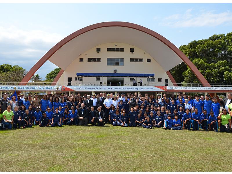 Centro de Instrução Almirante Sylvio de Camargo realiza abertura do 5° Núcleo do Programa Forças no Esporte