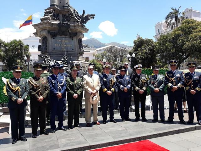 Cerimônia em Comemoração à Independência do Brasil no Equador