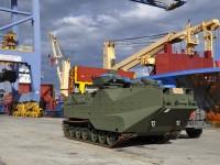 Corpo de Fuzileiros Navais recebe 20 novos Carros Lagarta