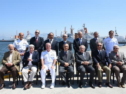 """Diretoria de Hidrografia e Navegação promove encontro com ex-Diretores alusivo ao """"Dia do Hidrógrafo"""""""