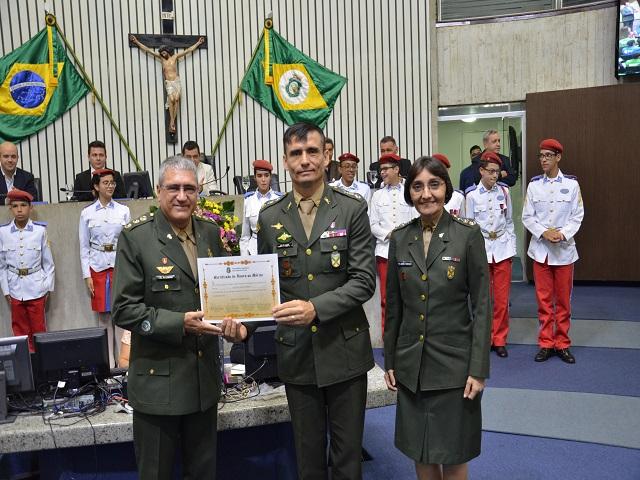Homenagem feita pela Assembléia Legislativa do Estado do Ceará