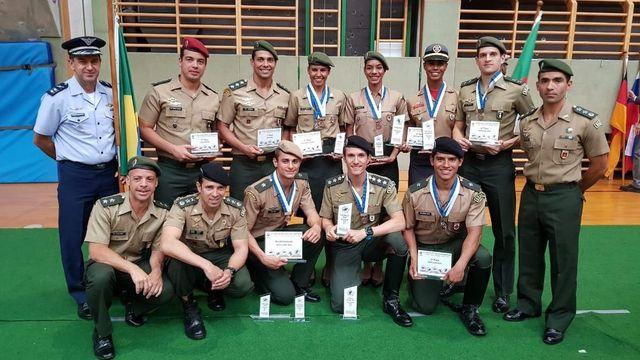 Seleção Militar Brasileira conquista o Bronze no masculino e no feminino do Mundial de Pentatlo Militar