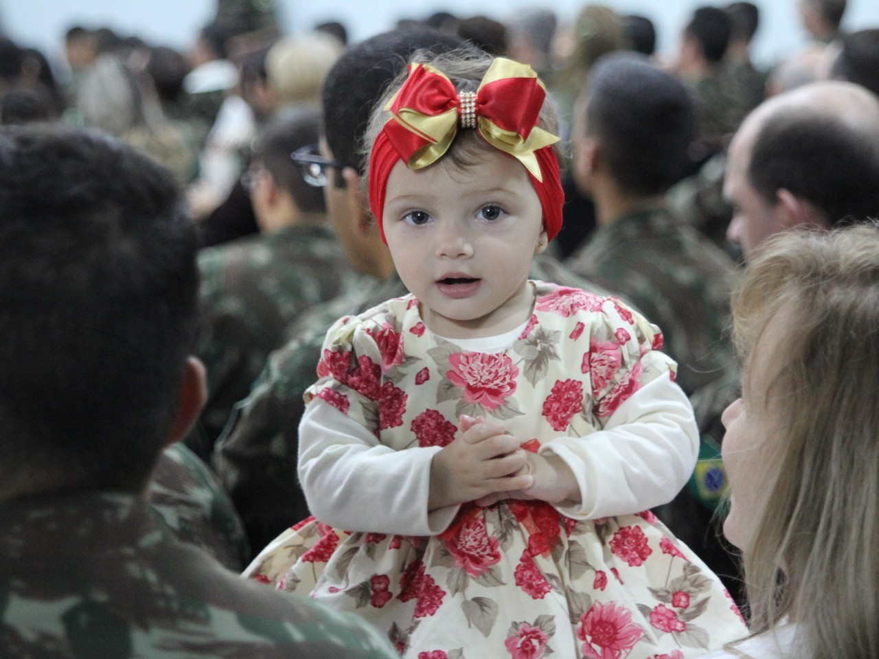 Música e homenagens marcam as comemorações do Dia da Família Militar na Guarnição de Santa Maria, no Rio Grande do Sul