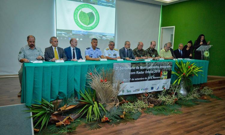 Monitoramento integrado da Amazônia com Radar orbital é tema de seminário