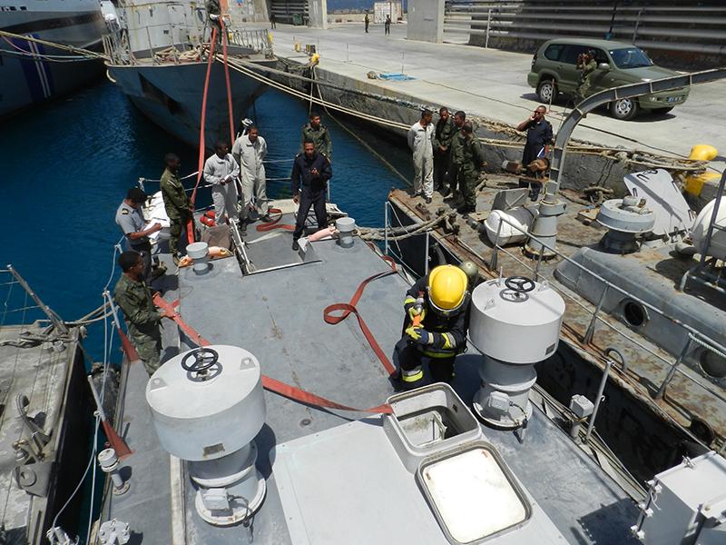 Núcleo da Missão Naval atua como Diretor de Exercício da Guarda Costeira de Cabo Verde