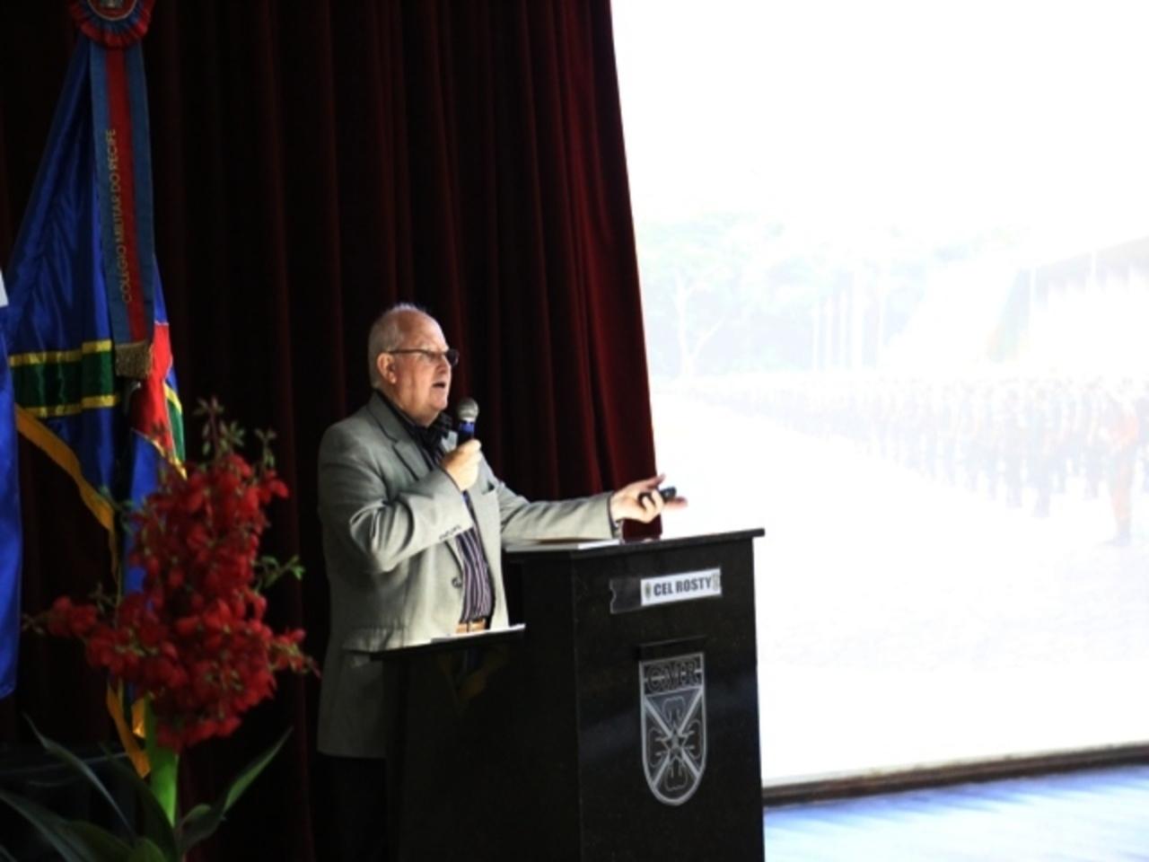 Palestra sobre o Centenário da Missão Militar Francesa no Brasil