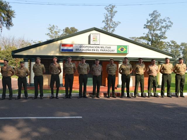 Visita Institucional do Comando MIlitar do Sul ao Paraguai