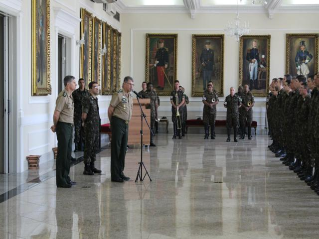 Visita do Chefe do Departamento de Ciência e Tecnologia do Exército