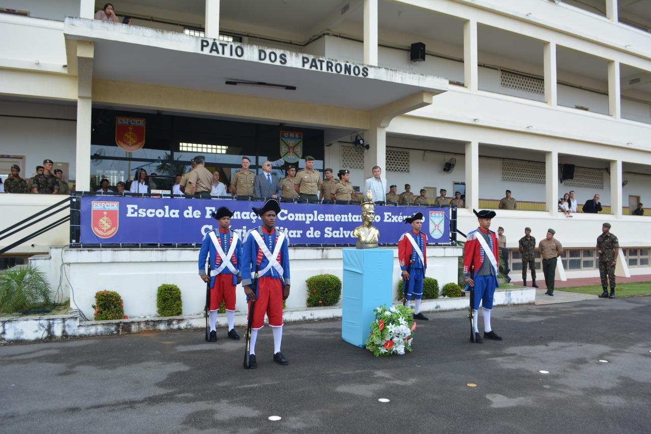 29 Anos de criação do Quadro Complementar de Oficiais é celebrado em Salvador com extensa programação