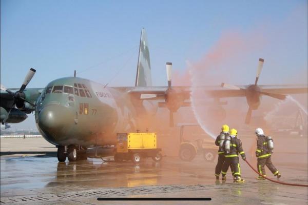 Ala 11 e RIOgaleão realizam simulado de emergência aeronáutica
