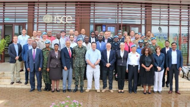 Brasil e líderes de missões de alto risco na África integram Workshop de Segurança dos Peacekeepers da ONU