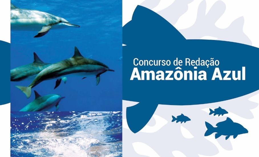 Lançamento do Concurso de Redação Amazônia Azul – Inscrições gratuitas de 15 a 30 de outubro de 2018