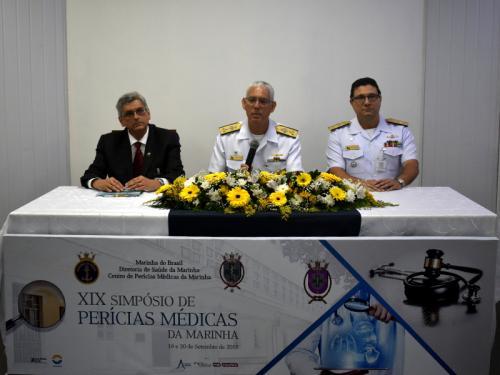 Centro de Perícias Médicas da Marinha realiza XIX Simpósio