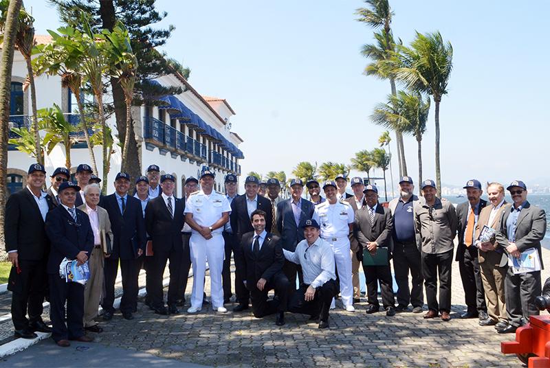 Centro de Instrução Almirante Wandenkolk recebe I Encontro da Liga da Reserva Naval do Brasil