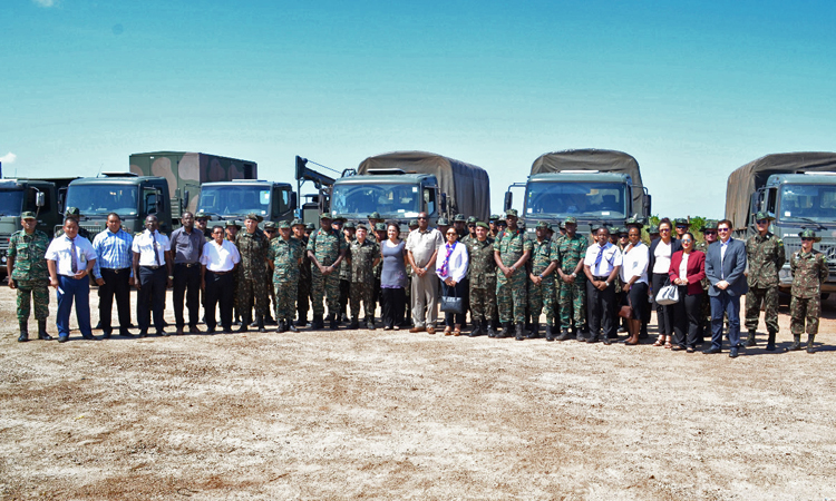 Combate aos efeitos da seca na Guiana conta com apoio dos ministérios da Defesa e das Relações Exteriores