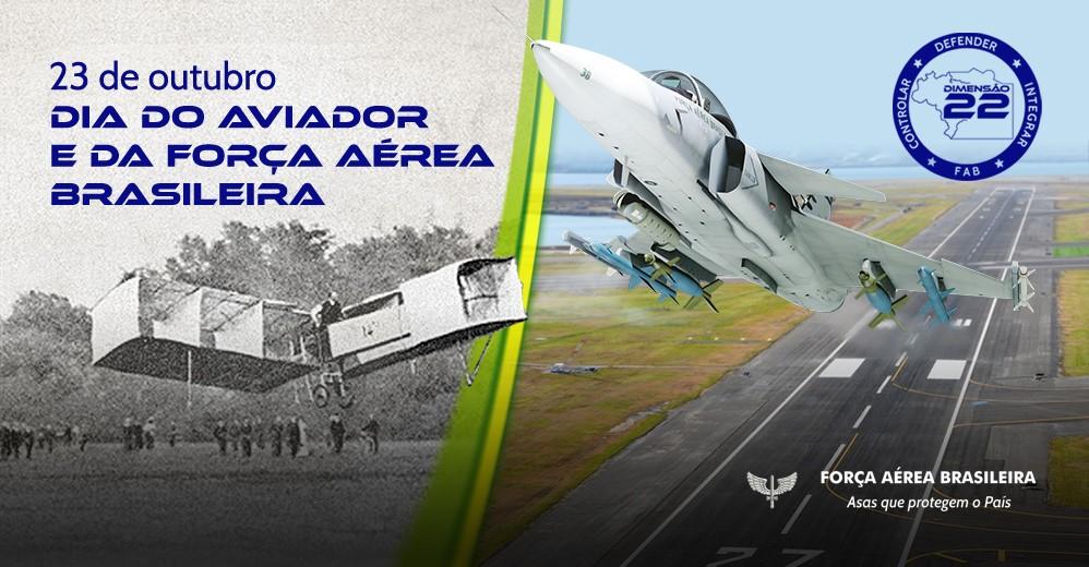 Dia do Aviador e da Força Aérea Brasileira
