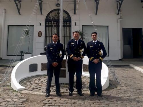 Diretoria de Hidrografia e Navegação participa de treinamento no Serviço Hidrográfico Naval argentino