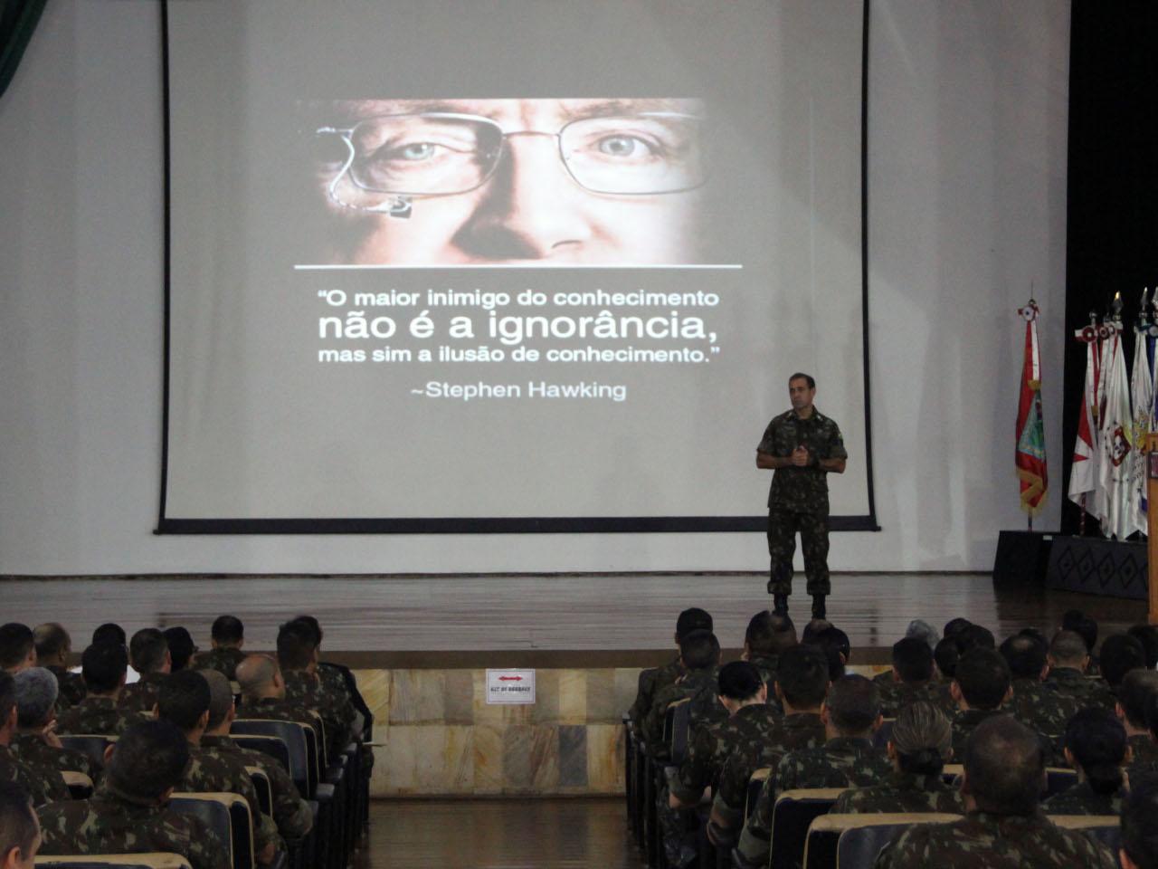 ESA sediou o III Encontro Pedagógico do Ensino Técnico Militar