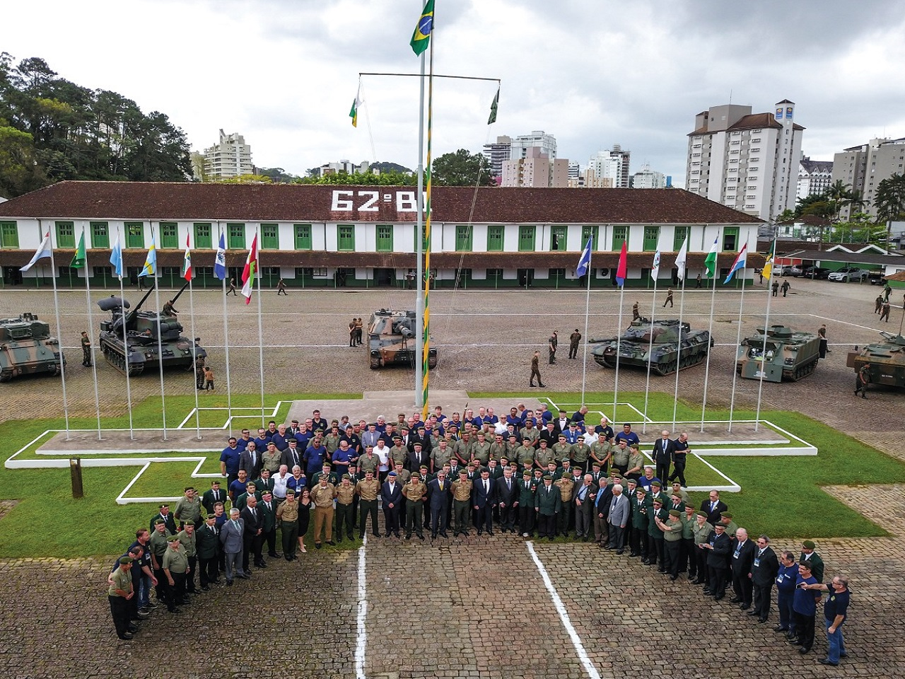 Em Joinville, XX Encontro Nacional dos Oficiais da Reserva reúne oficiais para troca de experiências