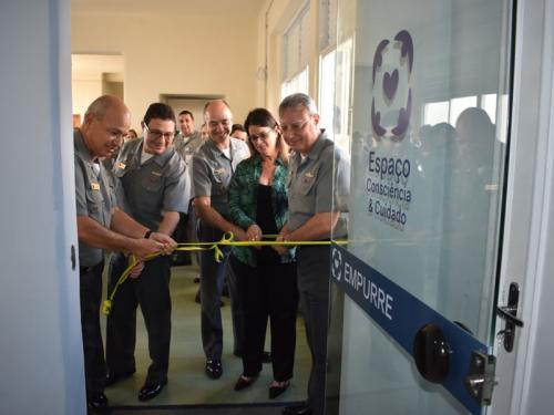 Espaço Consciência e Cuidado é inaugurado no Hospital Central da Marinha