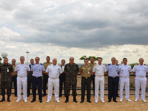 Marinha do Brasil participa da 2ª Reunião do Grupo de Trabalho Interforças do Setor Cibernético