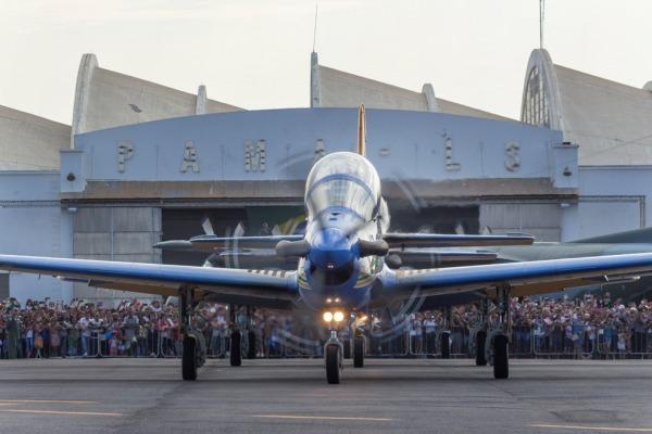 Parque de Material Aeronáutico de Lagoa Santa recebe 30 mil pessoas