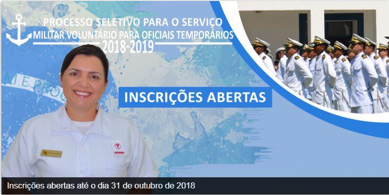 Marinha: último dia de inscrição para Oficiais temporários
