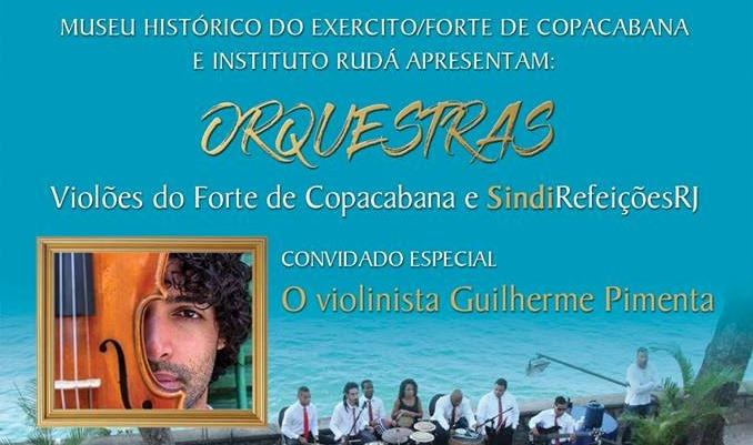 104º aniversário do Forte de Copacabana