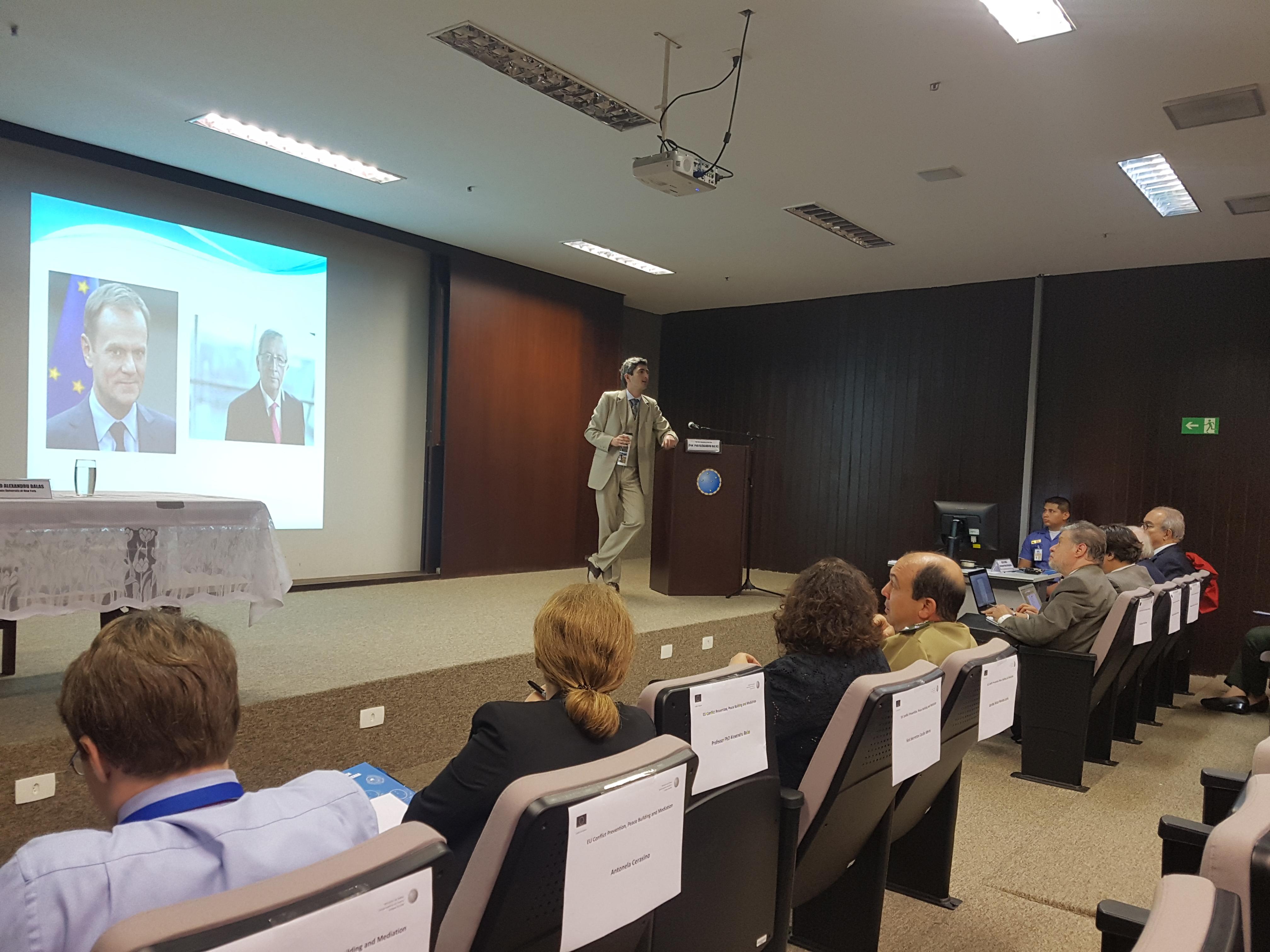 ESG Brasília debate sobre prevenção de conflitos, mediação e construção da paz