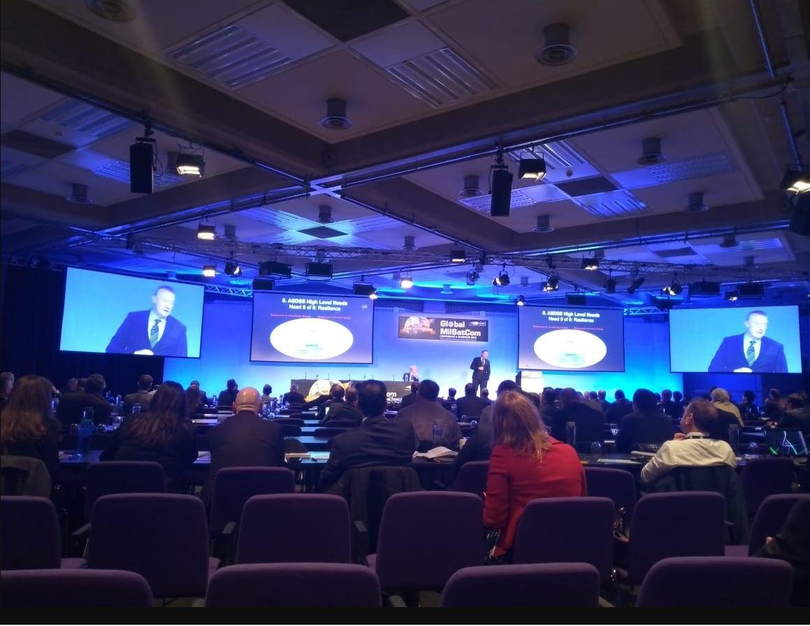CCISE participa de conferência mundial sobre comunicações via satélite
