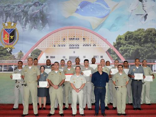 CIASC sedia primeiro Curso Avançado de Defesa Nuclear, Biológica, Química e Radiológica