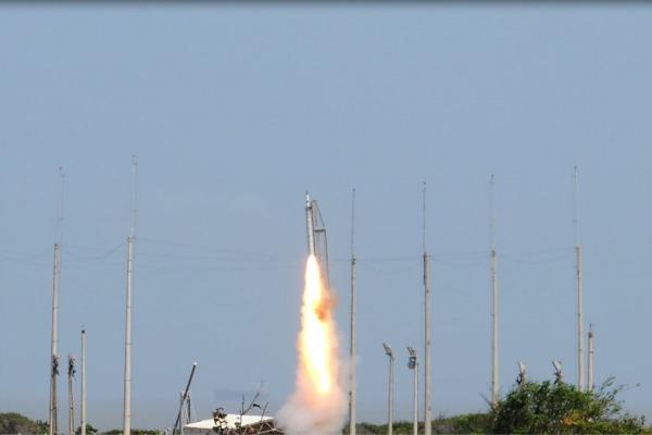 CLA realiza lançamento de Foguete de Treinamento Básico na Operação Falcão III