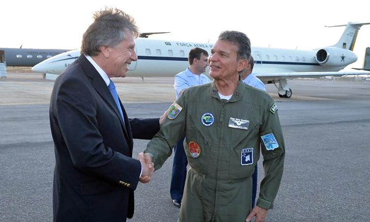 CRUZEX 2018: Ministros da Defesa do Brasil e do Chile acompanham o exercício militar
