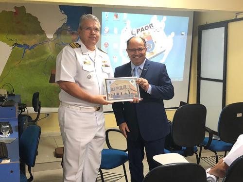 Capitania dos Portos da Amazônia Oriental recebe visita do Juiz-Presidente do Tribunal Marítimo