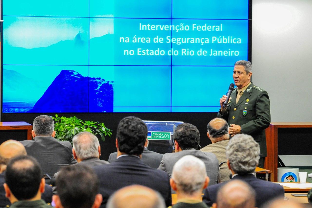 Seminário na Câmara dos Deputados sobre Intervenção Federal no Rio apresenta importantes indicadores