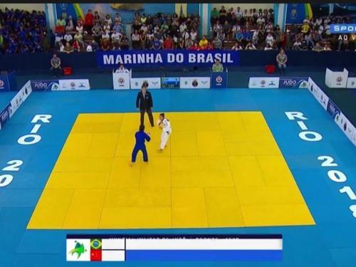 Equipe Brasileira estreia com dobradinha no Mundial Militar de Judô
