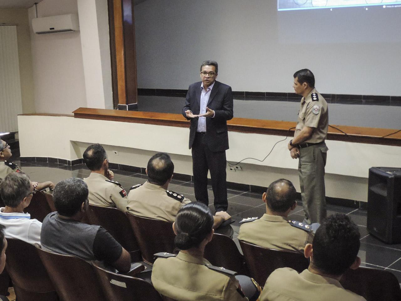 Contratação de militar da reserva é tema de Intercâmbio com as Forças de Segurança da Paraíba