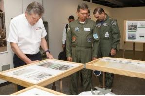 Ministros da Defesa brasileiro e chileno visitam exercício