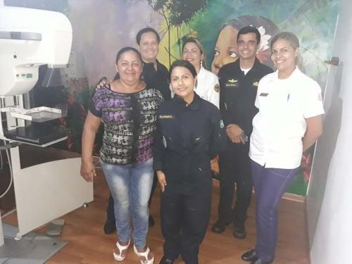 Navio Auxiliar Pará atinge a marca de mil mamografias a bordo, somente em 2018