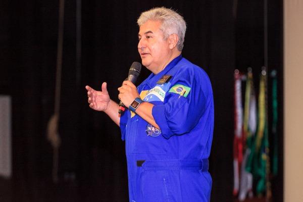 SERIPA VI realiza evento com palestra do astronauta Marcos Pontes