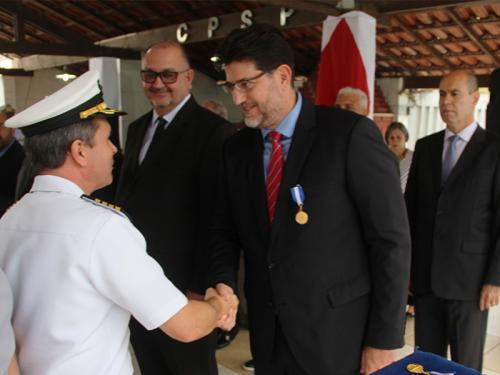 Capitão dos Portos de São Paulo comemora o Dia Nacional do Amigo da Marinha