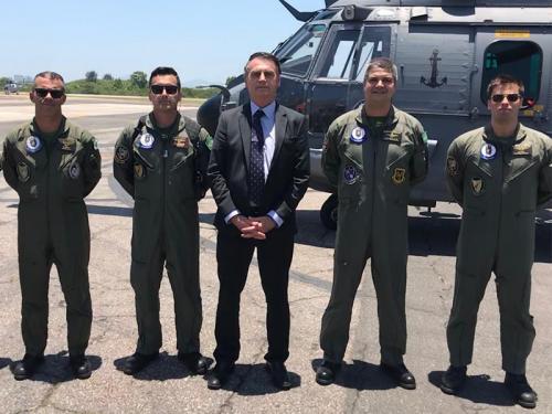 2º Esquadrão de Helicópteros de Emprego Geral realiza transporte do Presidente eleito