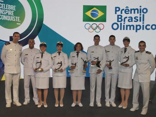Atletas da Marinha são destaques no 20o Prêmio Brasil Olímpico