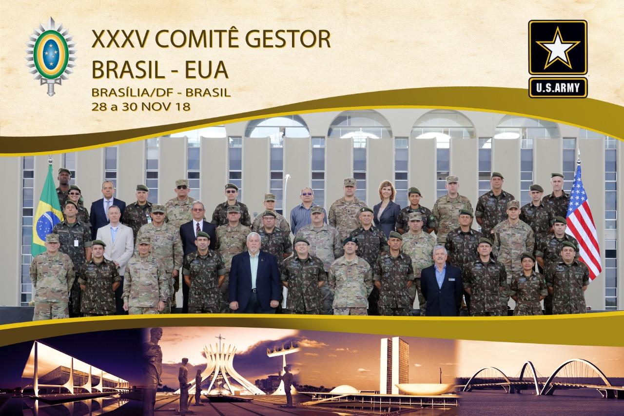 Exército Brasileiro e Exército do Estados Unidos da América estabelecem acordos de Cooperação